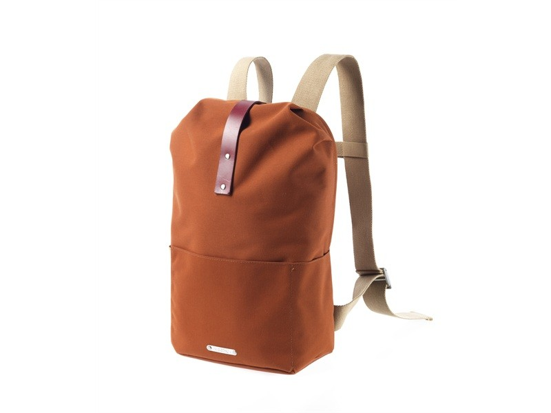 Brooks England Dalston Knapsack Medium Cycling Backpack Volume 18L Brick U.S.A. & Canada