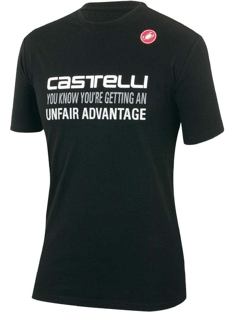 Castelli Advantage Casual Shirt Men's Size S Black U.S.A. & Canada