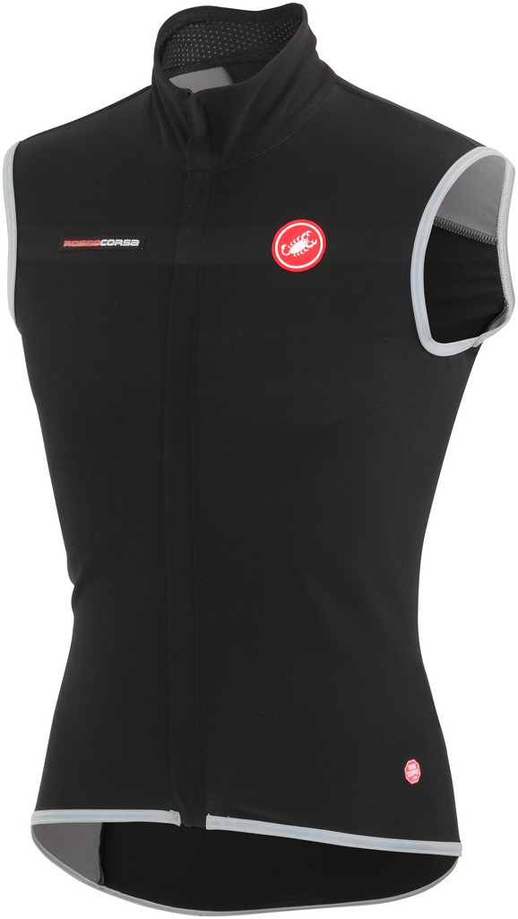 Castelli Fawesome 2 Cycling Vest Men's Size L Black U.S.A. & Canada