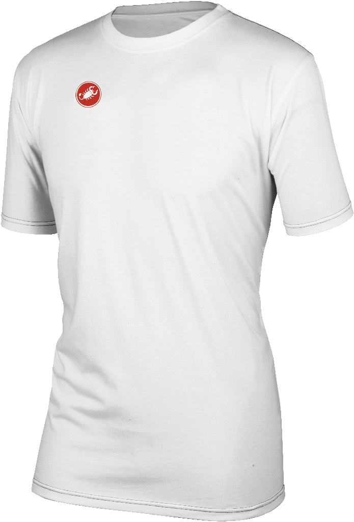 Castelli Race Day Short Sleeve T Shirt Men's Size M White U.S.A. & Canada