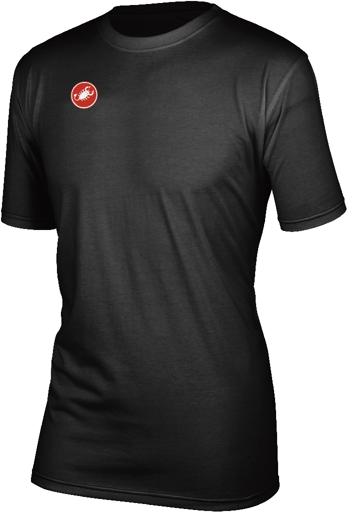 Castelli Race Day Short Sleeve T Shirt Men's Size XS Black U.S.A. & Canada
