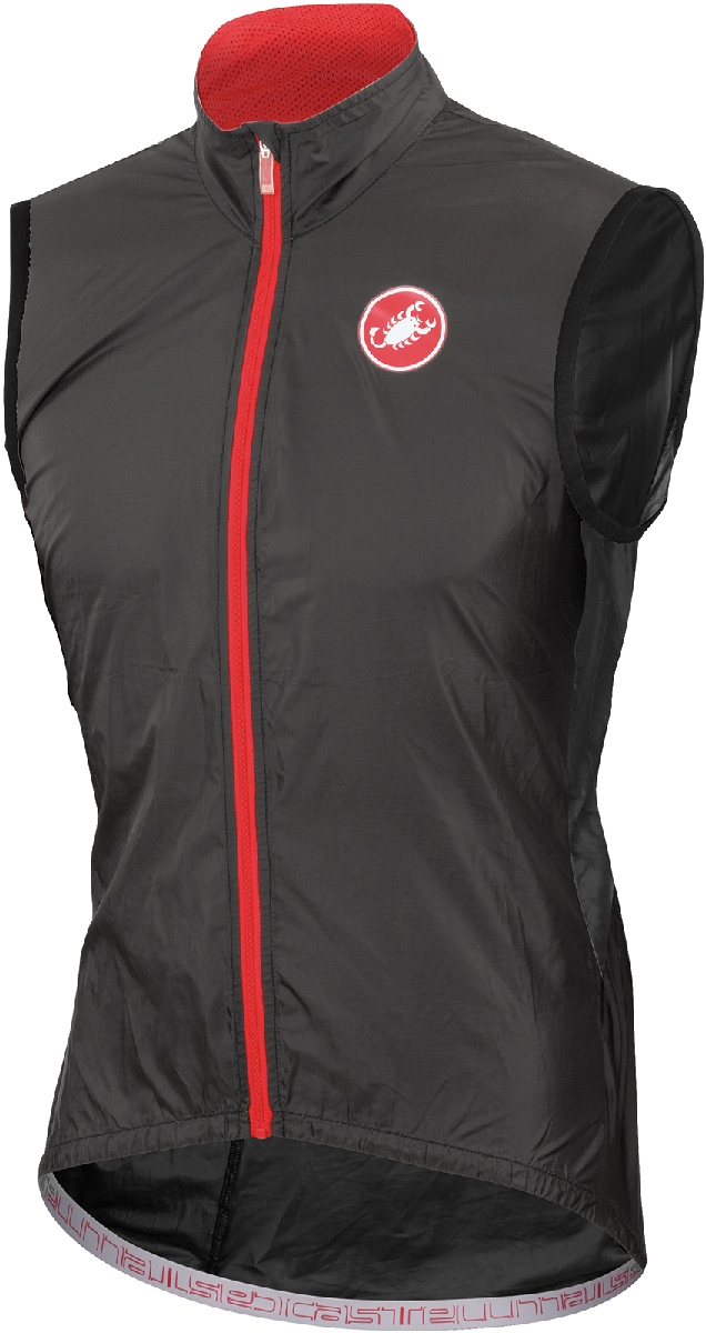 Castelli Velo Cycling Vest Men's Size XL Black U.S.A. & Canada