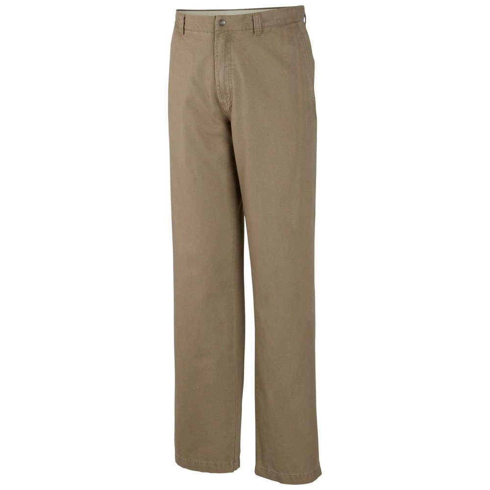 Columbia ROC 32 Hiking Pant Men's Size 33x32 Flax U.S.A. & Canada