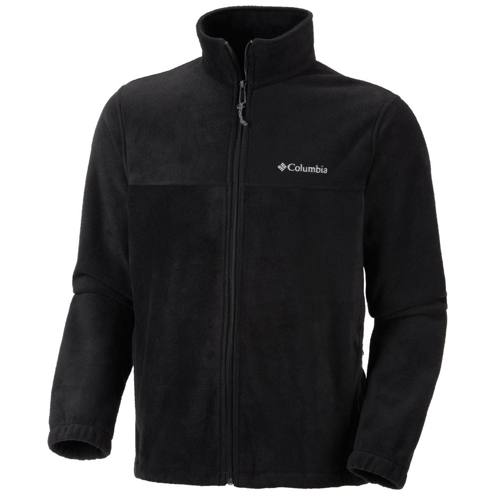 • Warm polyester anti-pill microfleece • Stand-up collar • Articulated seam construction Ideal for skiing and other winter activities, the Columbia™ Men's Western Ridge Half-Zip Sweater is a practical pullover top made of warm and soft polyester fleece, with a stand-up collar to protect your neck from the wind.