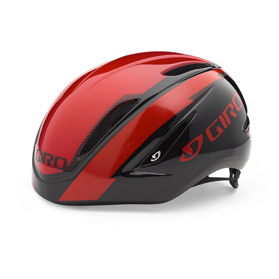 Giro Air Attack Time Trial Helmet Size M Red Black U.S.A. & Canada