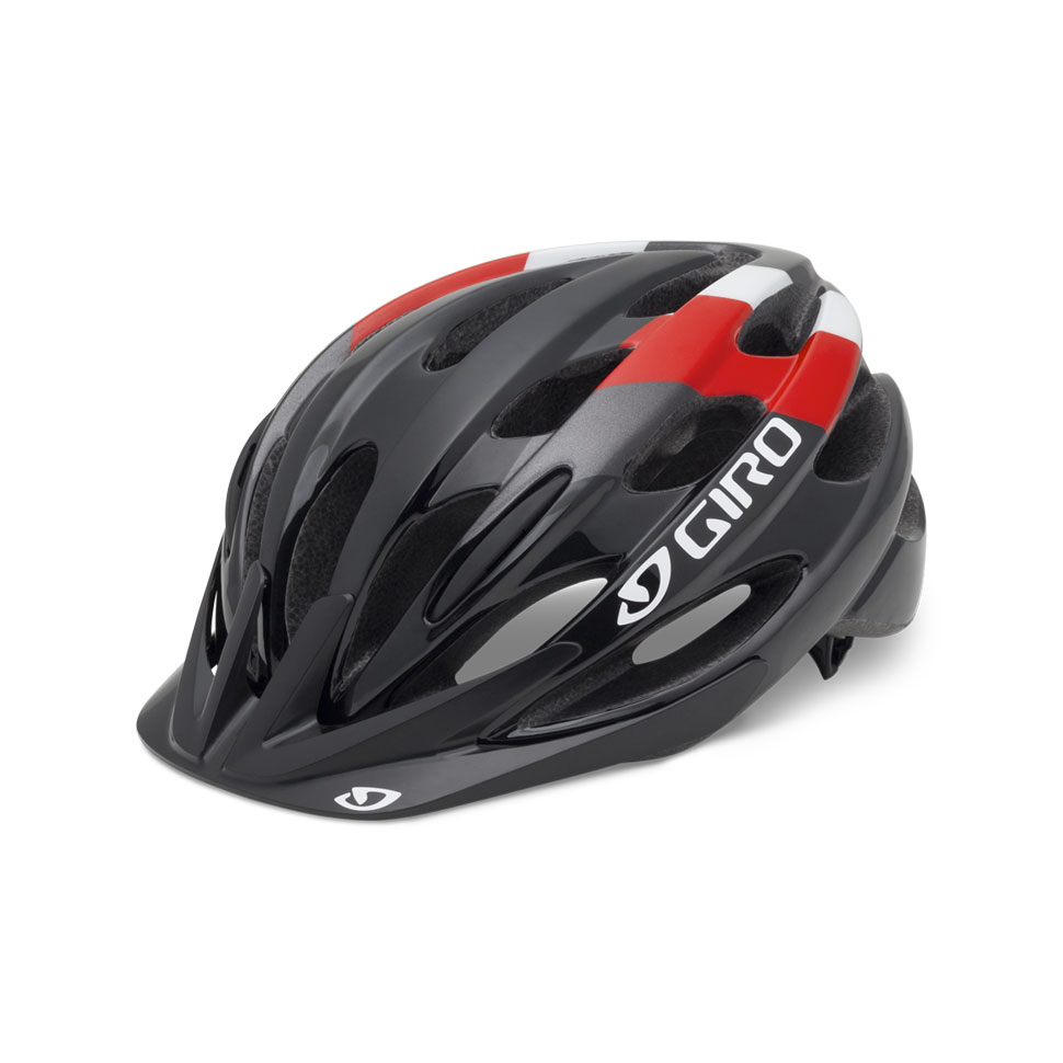 Giro Raze Cycling Helmet Kid's Size UY Red Black U.S.A. & Canada