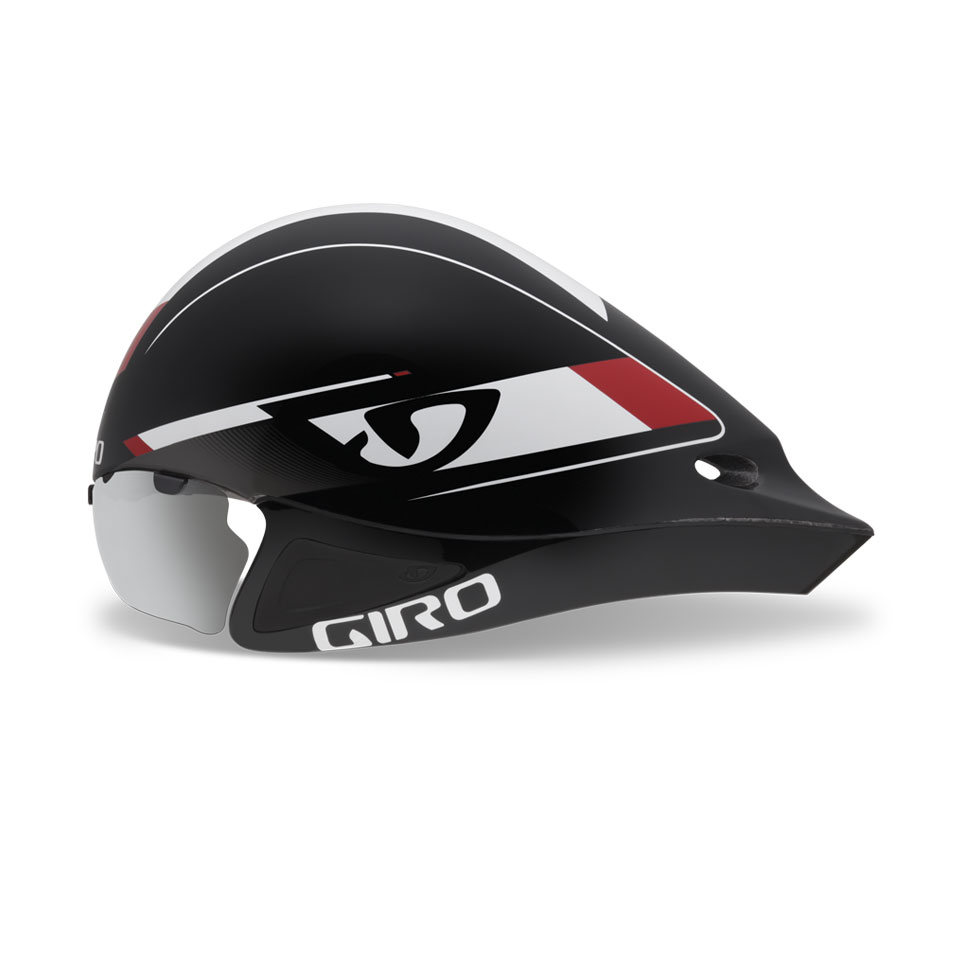 Giro Selector Time Trial Helmet Size S M Red Black U.S.A. & Canada