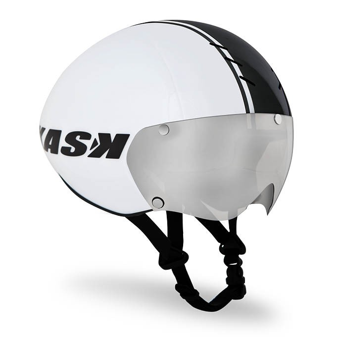 Kask Bambino Time Trial Helmet Size L White Black U.S.A. & Canada