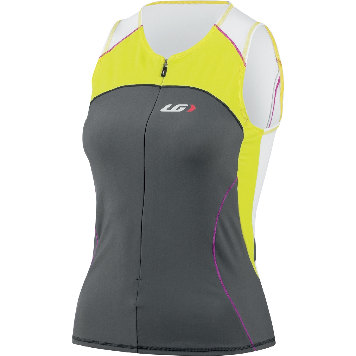Louis Garneau Comp Sleeveless Triathlon Top Women's Size S SulfurSpring U.S.A. & Canada