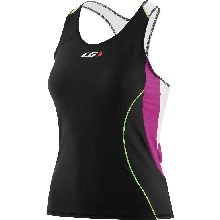 Louis Garneau Comp Triathlon Top Women's Size S CandyPurple U.S.A. & Canada