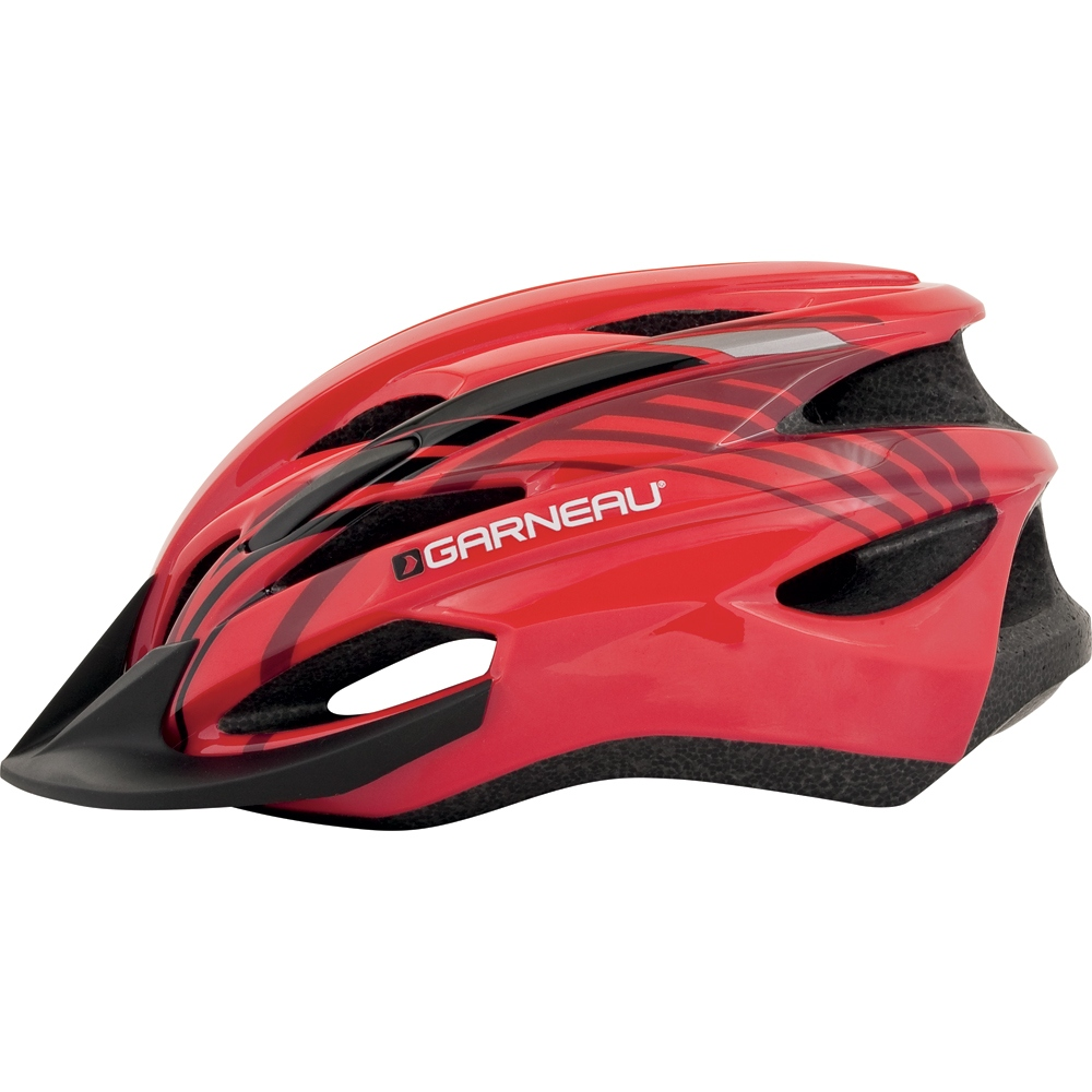 Louis Garneau Nino Cycling Helmet Kid's Size UC Red U.S.A. & Canada