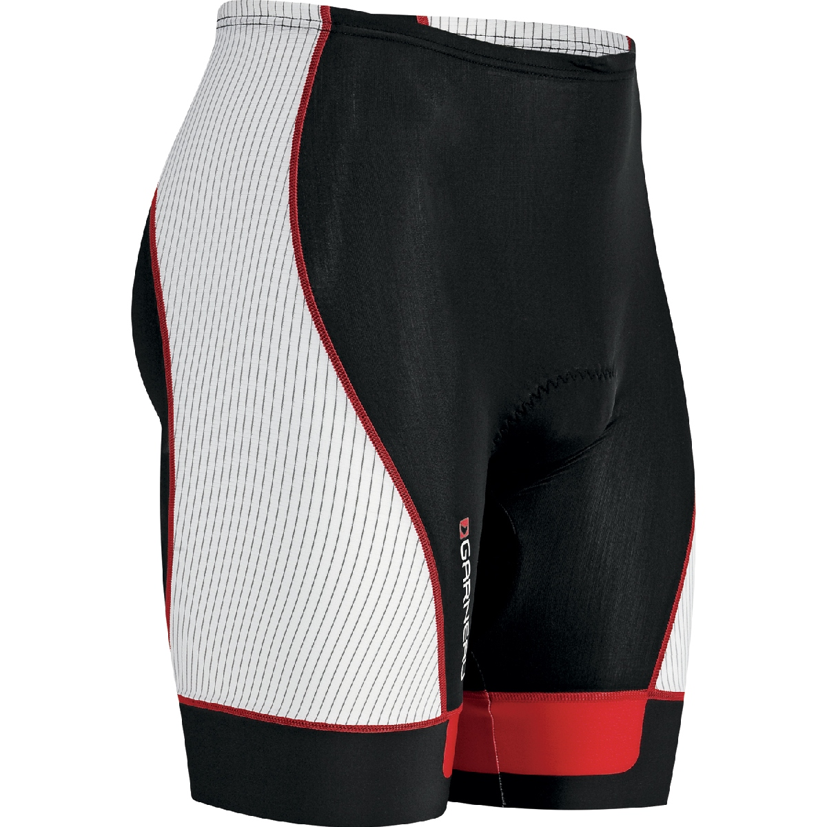 Louis Garneau Pro 8 Triathlon Short Men's Size XL Black Ginger U.S.A. & Canada