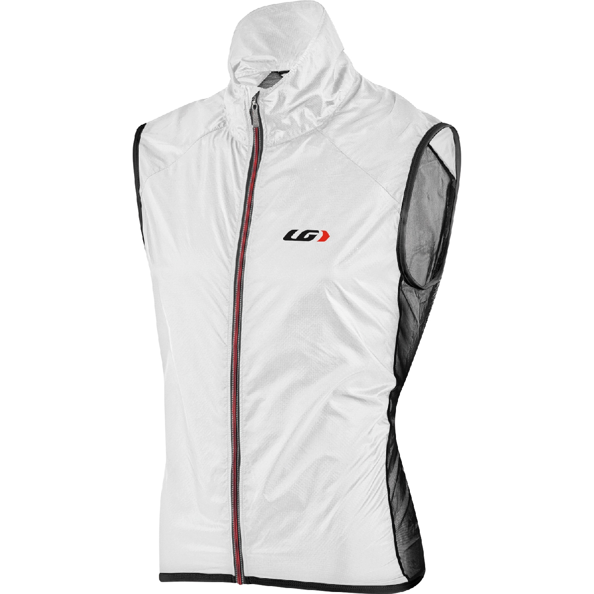 Louis Garneau Speedzone X Lite Cycling Vest Men's Size XXL White Black U.S.A. & Canada