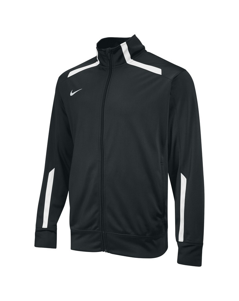 Nike Overtime Warm Up Jacket Kid's Size XL Black U.S.A. & Canada