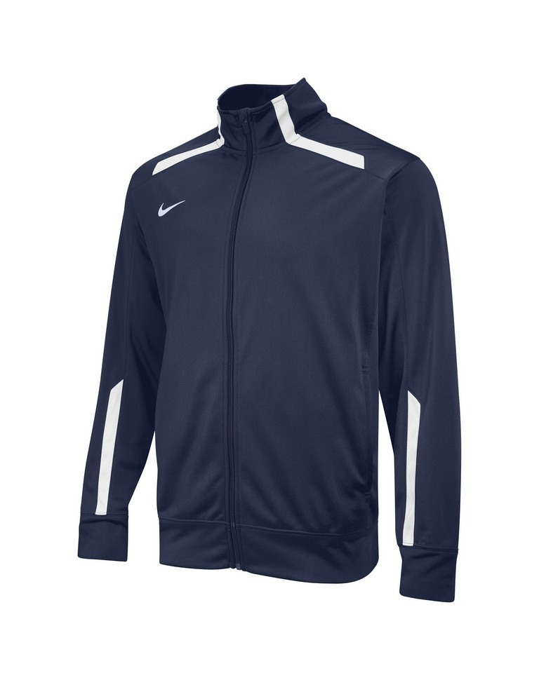 Nike Overtime Warm Up Jacket Kid's Size L Navy U.S.A. & Canada