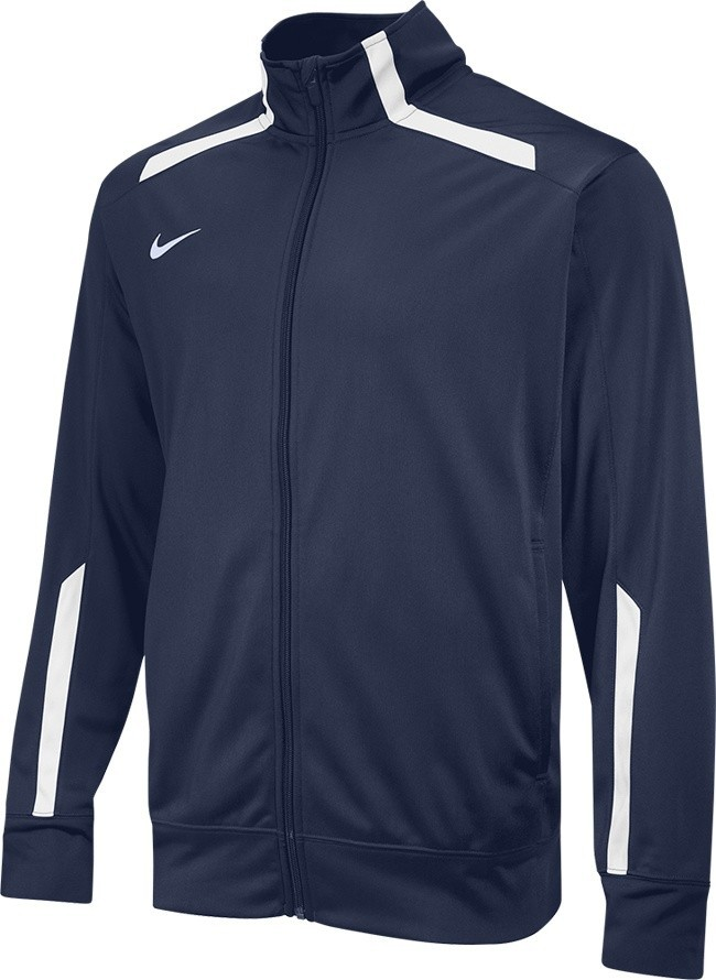 Nike Overtime Warm Up Jacket Men's Size M Navy U.S.A. & Canada