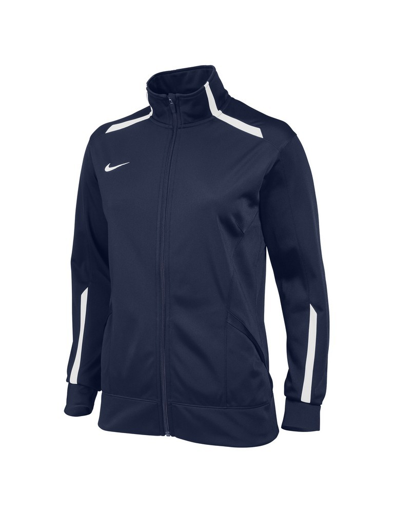 Nike Overtime Warm Up Jacket Women's Size M Royal U.S.A. & Canada