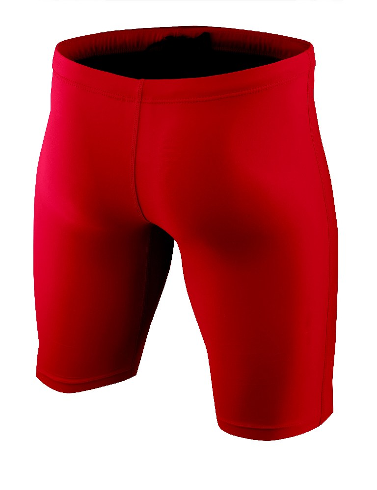 Nike Poly Core Solid Swim Jammer Men's Size 32 UniversityRed U.S.A. & Canada