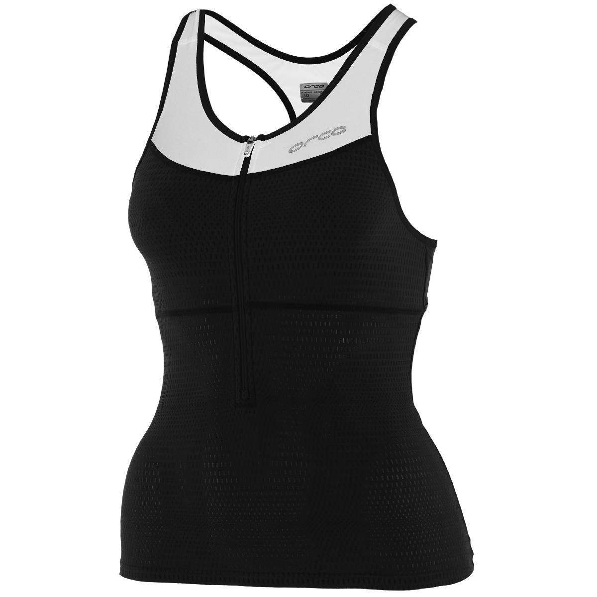 Orca 226 Support Triathlon Top Women's Size XL Black White U.S.A. & Canada