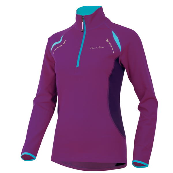 Pearl Izumi Aurora Thermal Running Top Women's Size S Orchid U.S.A. & Canada
