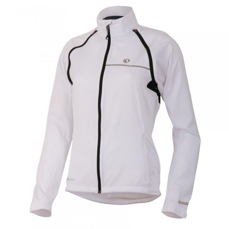 Pearl Izumi Barrier Convertible Cycling Jacket Women's Size XS White U.S.A. & Canada