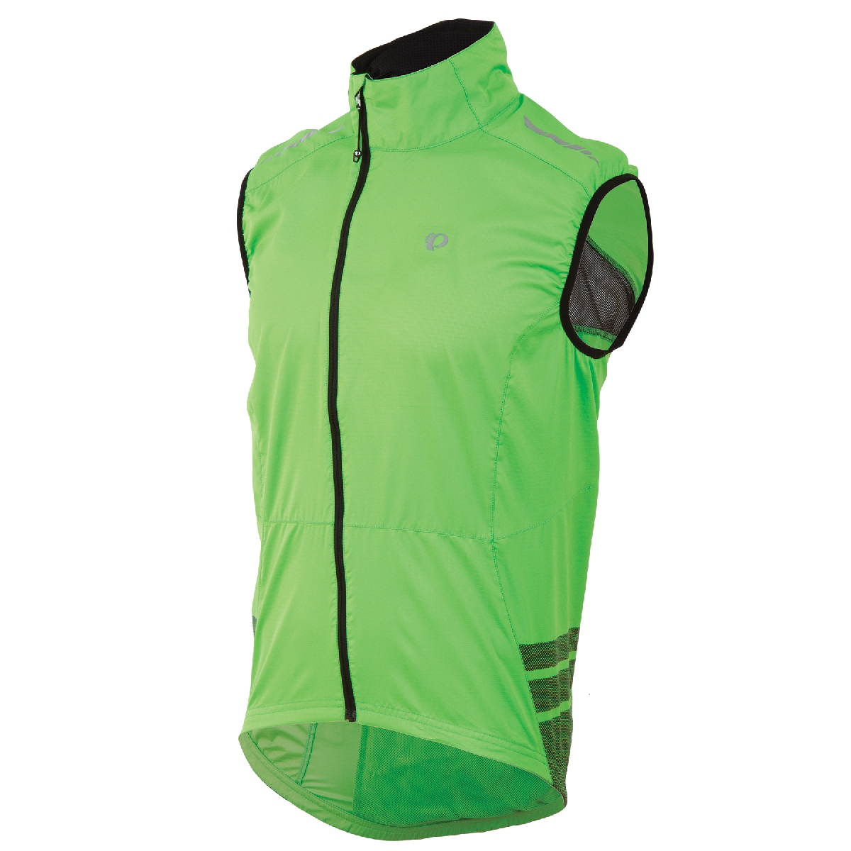 Pearl Izumi Elite Barrier Cycling Vest Men's Size M GreenFlash15 U.S.A. & Canada