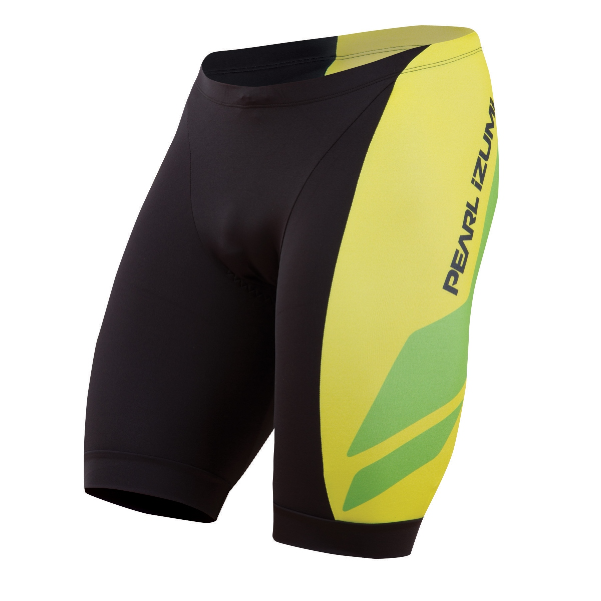 Pearl Izumi Elite In R Cool LTD Triathlon Short Men's Size M TeamPIGreenFlash U.S.A. & Canada