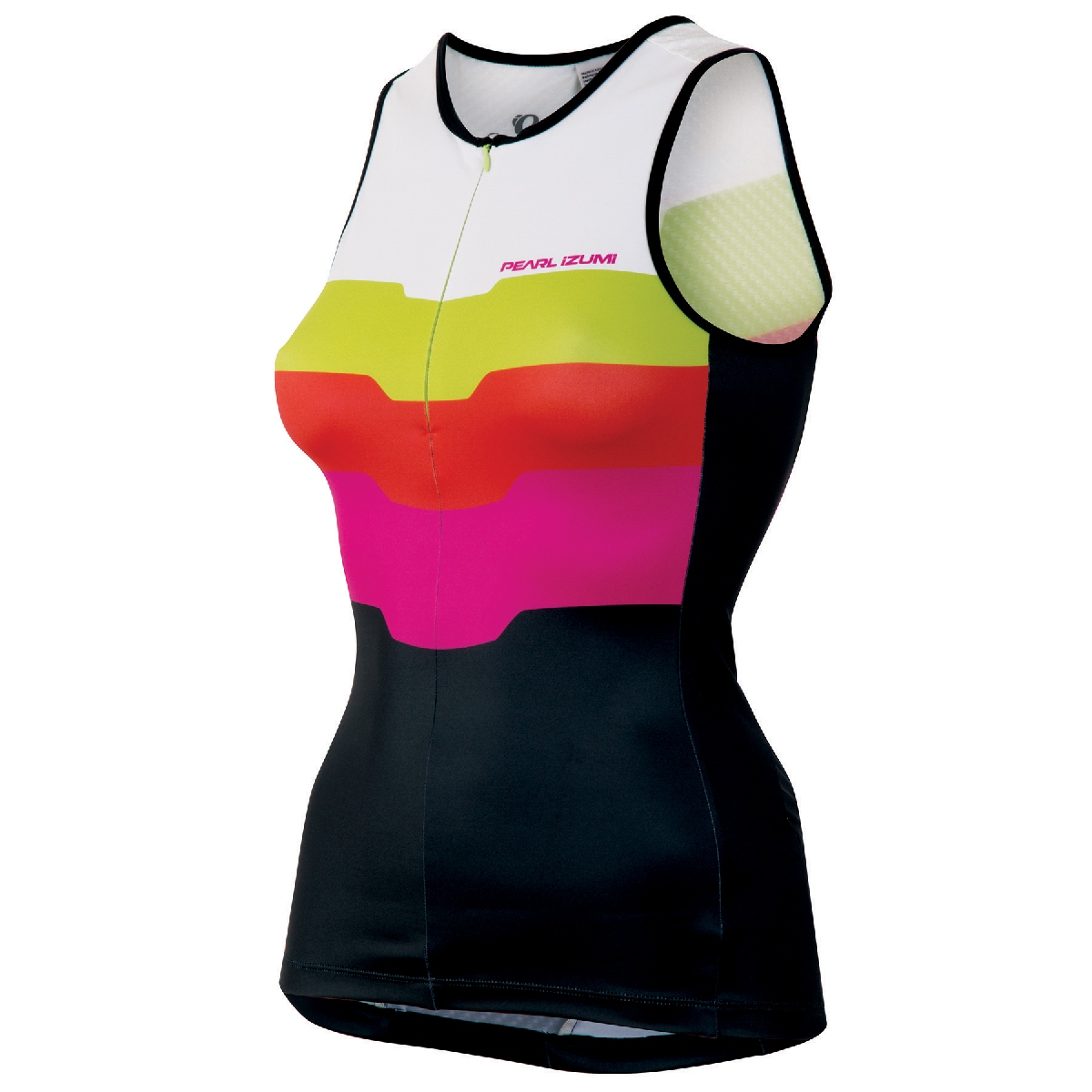 Pearl Izumi Elite In R Cool LTD Triathlon Singlet Women's Size XL TeamPIHotPink U.S.A. & Canada