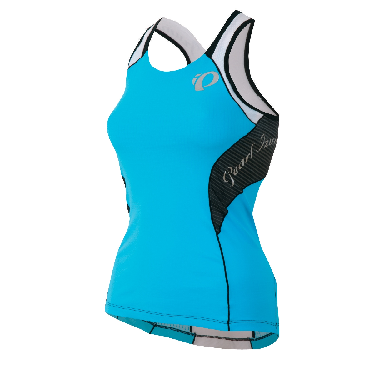Pearl Izumi Elite In R Cool Support Triathlon Singlet Women's Size L BlueAtoll U.S.A. & Canada