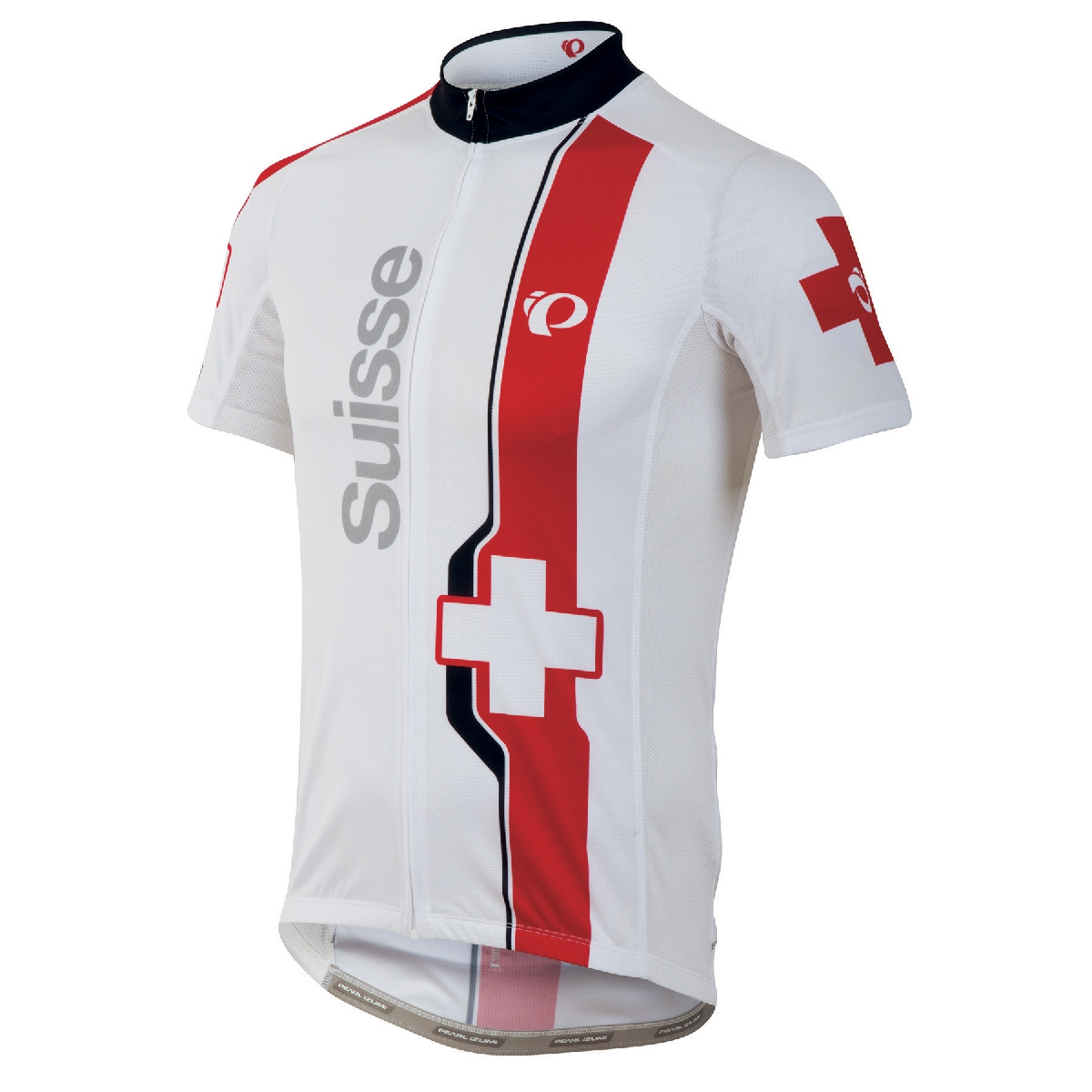 Pearl Izumi Elite LTD Country Short Sleeve Cycling Jersey Men's Size S Suisse U.S.A. & Canada