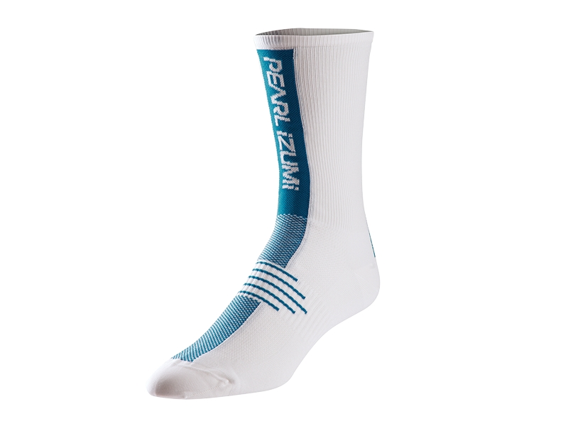 Pearl Izumi Elite Tall Cycling Sock Size XL MykonosBlue U.S.A. & Canada