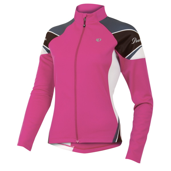 Pearl Izumi Elite Thermal Long Sleeve Cycling Jersey Women's Size S Berry U.S.A. & Canada