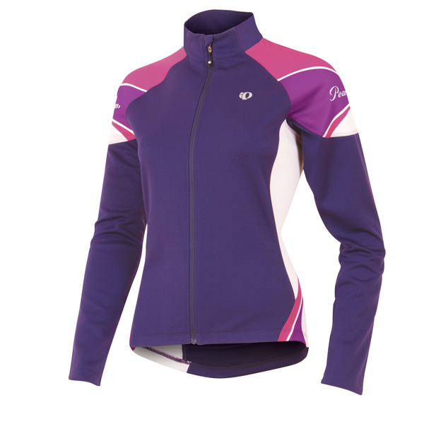 Pearl Izumi Elite Thermal Long Sleeve Cycling Jersey Women's Size XL Blackberry U.S.A. & Canada