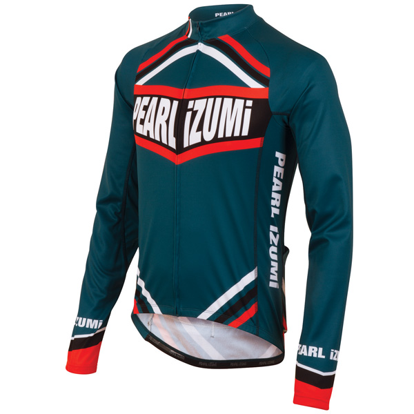 Pearl Izumi Elite Thermal LTD Long Sleeve Cycling Jersey Men's Size XL ChampionBlack U.S.A. & Canada