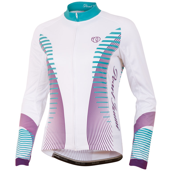 Pearl Izumi Elite Thermal LTD Long Sleeve Cycling Jersey Women's Size L FuturisticScubaBlue U.S.A. & Canada