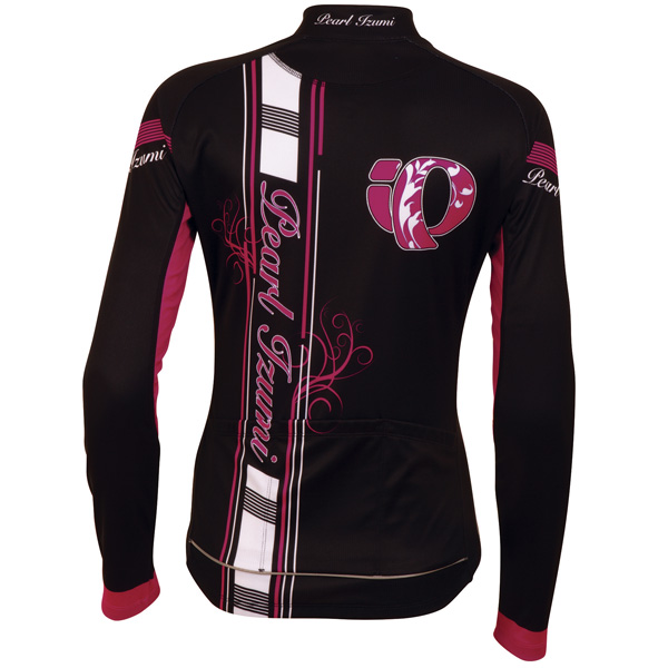 Pearl Izumi Elite Thermal LTD Long Sleeve Cycling Jersey Women's Size L NewBigIPBlack U.S.A. & Canada