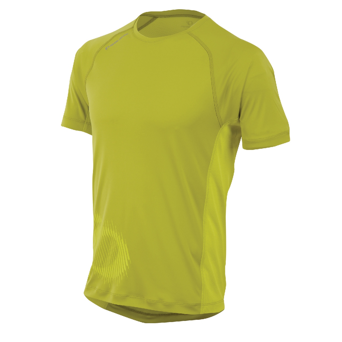 Pearl Izumi Flash Graphic Short Sleeve Running Top Men's Size M Citron SulphurSprings U.S.A. & Canada