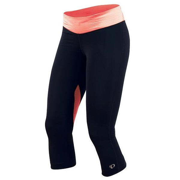 Pearl Izumi Fly 3 4 Running Tight Women's Size S Black LivingCoral U.S.A. & Canada