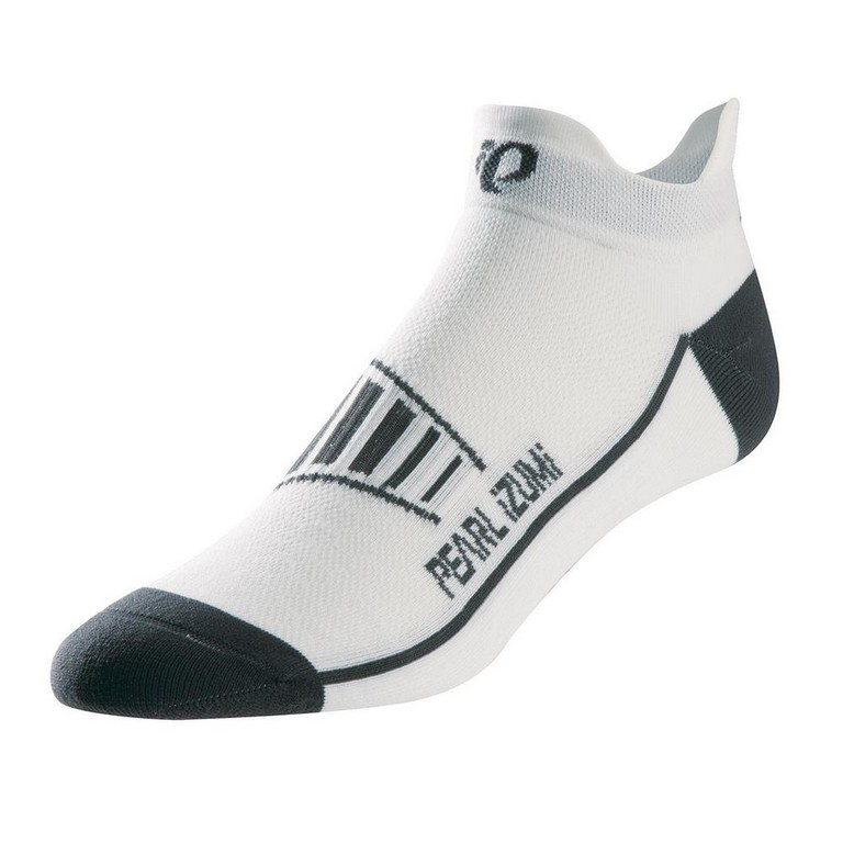 Pearl Izumi Fly No Show Running Sock Men's Size M White U.S.A. & Canada