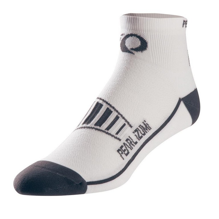 Pearl Izumi Fly Running Sock Men's Size XL White U.S.A. & Canada