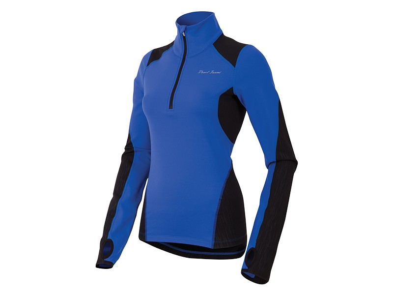 Pearl Izumi Fly Thermal Long Sleeve Running Top Women's Size M DazzlingBlue U.S.A. & Canada