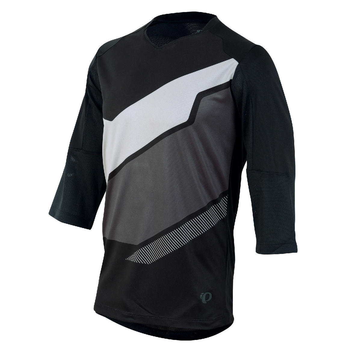 Pearl Izumi Launch 3 4 Sleeve Cycling Jersey Men's Size S Black U.S.A. & Canada