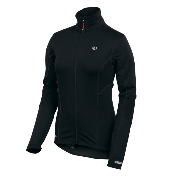 Pearl Izumi P R O Thermal Long Sleeve Cycling Jersey Women's Size L Black U.S.A. & Canada
