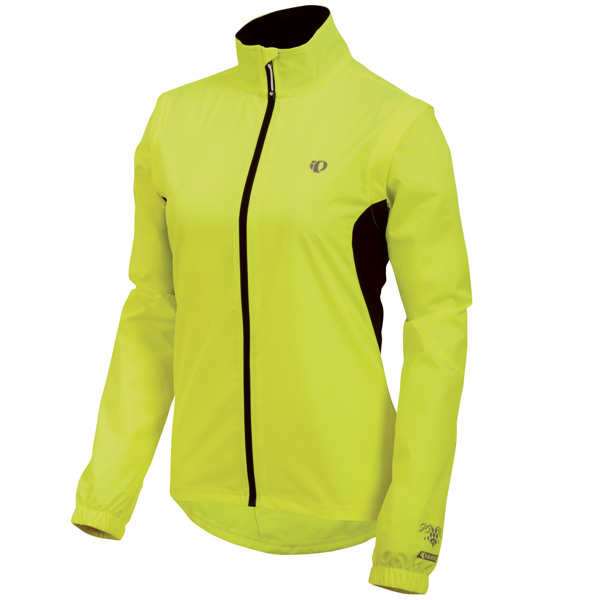 Pearl Izumi Select Barrier Convertible Cycling Jacket Women's Size XL ScreamingYellow U.S.A. & Canada