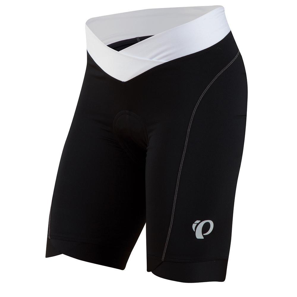 Pearl Izumi Select In R Cool Cycling Short Women's Size L Black White U.S.A. & Canada