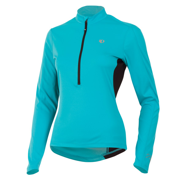 Pearl Izumi Select Long Sleeve Cycling Jersey Women's Size M ScubaBlue U.S.A. & Canada