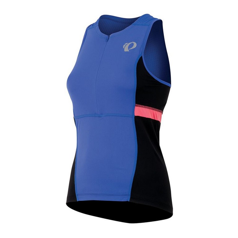 Pearl Izumi Select Relaxed Sleeveless Triathlon Top Women's Size S DazzlingBlue U.S.A. & Canada