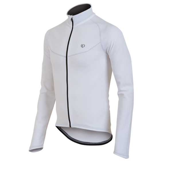 Pearl Izumi Select Thermal Long Sleeve Cycling Jersey Men's Size M White U.S.A. & Canada