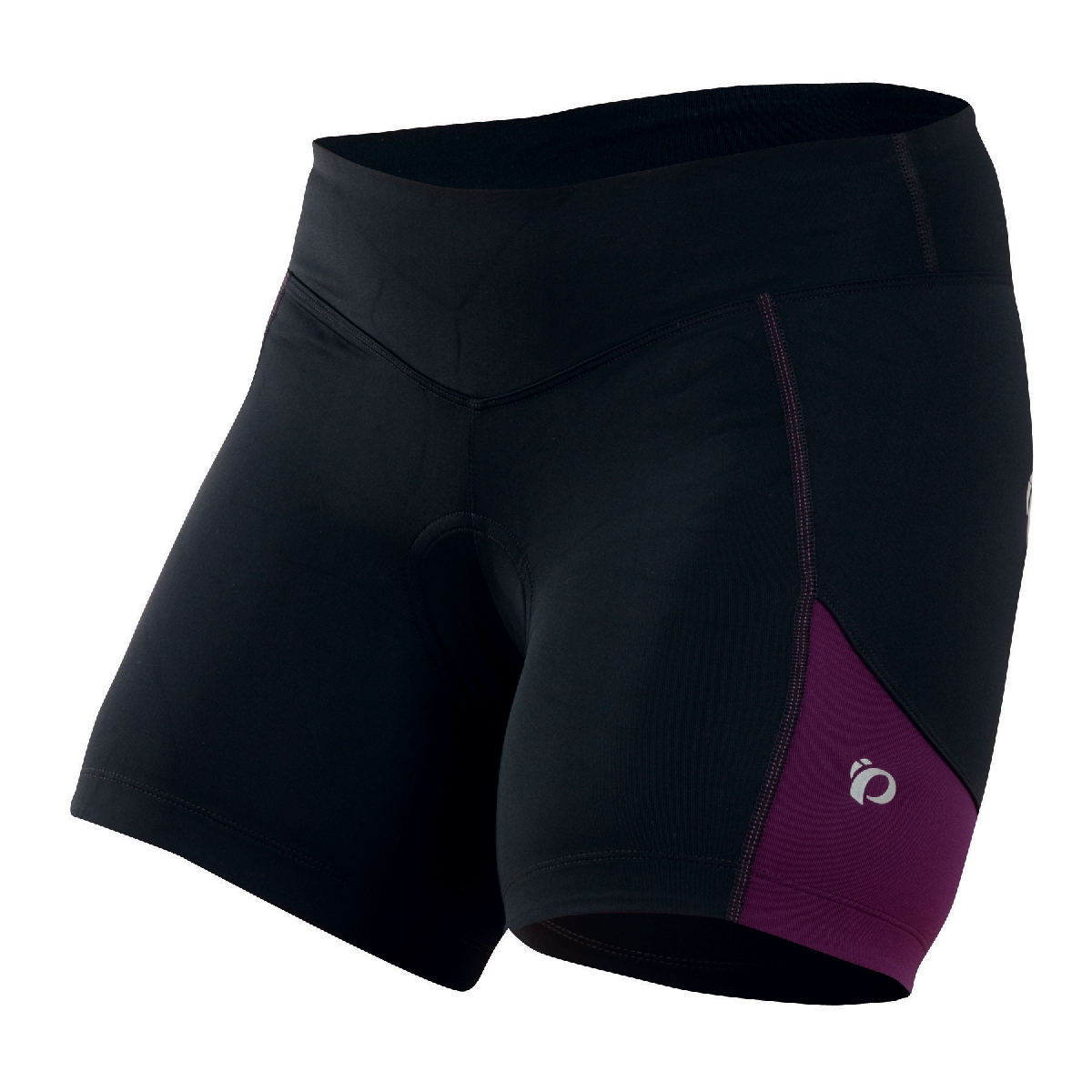 Pearl Izumi Sugar Cycling Short Women's Size XL Black DarkPurple U.S.A. & Canada