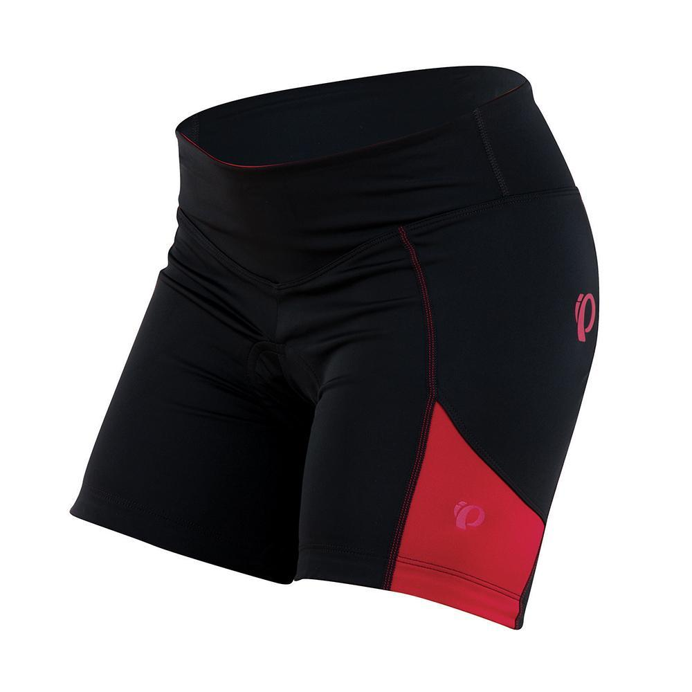 Pearl Izumi Sugar Cycling Short Women's Size M Black Crimson U.S.A. & Canada